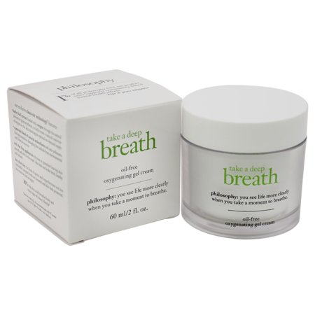 Take a Deep Breath Oil-Free Oxygenating Gel Cream by Philosophy for Women - 2 oz Gel Cream - image 1 of 1