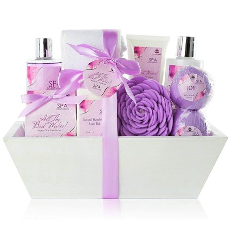 Gift Baskets Canada Spa - Premium Large Spa Basket,