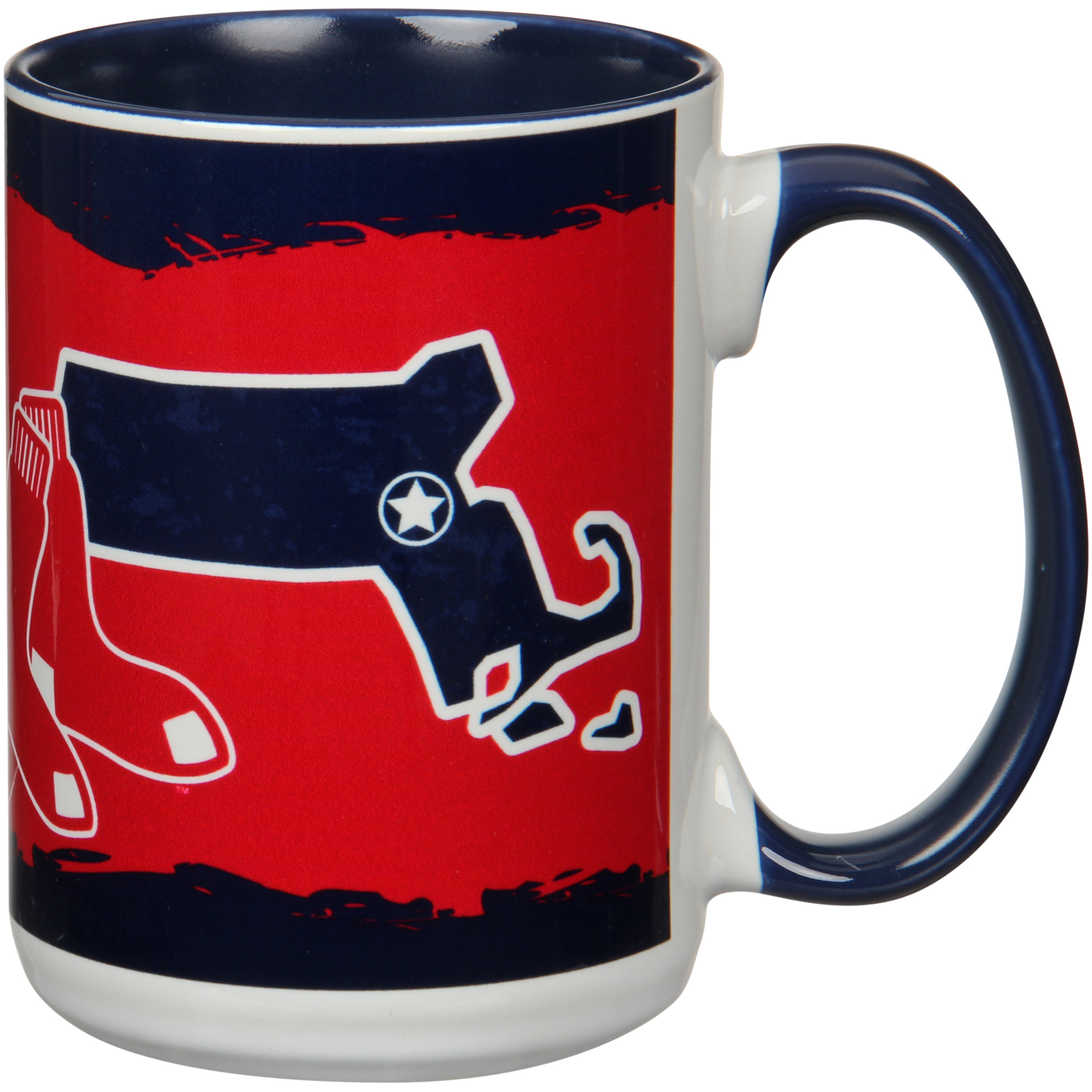 Boston Red Sox 15oz. It's Your State Of Mind Mug - No Size