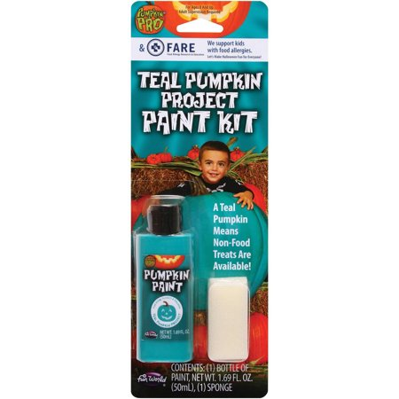 Halloween Carvings For Pumpkins (Teal Pumpkin Kit Halloween)