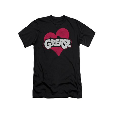 Grease Heart Mens Slim Fit - T Birds In Grease