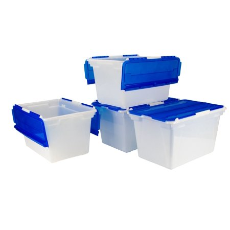 - 12 Gallon/45 Liters, Flip Top Tote (4 units/pack)