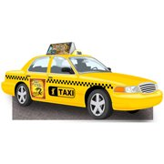 Broadway Taxi Cab Standee