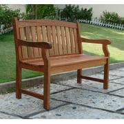 Marley 2-Seater Outdoor Garden Bench