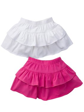 e2d8f472b9 Product Image Ruffle Skorts, 2-pack (Baby Girls &Toddler Girls)