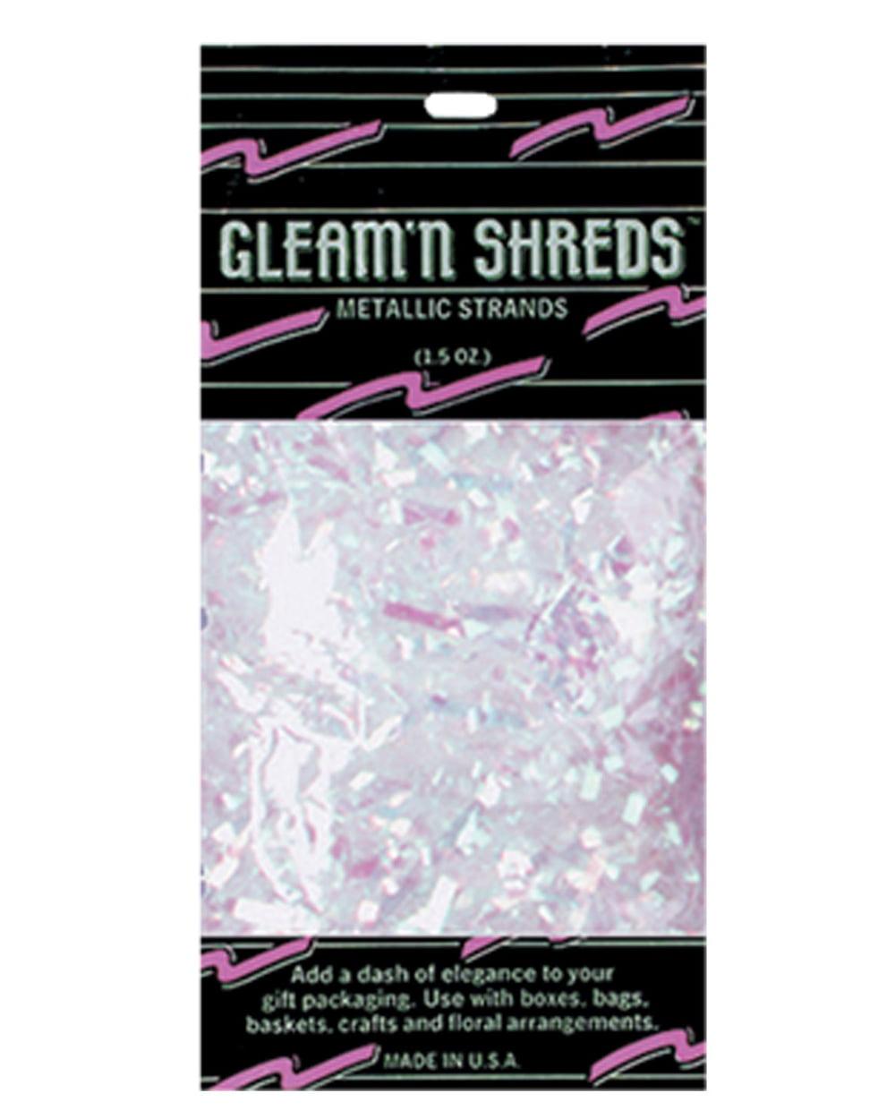 Gleam N Shreds Metallic Strands - Opalescent - CASE OF 24