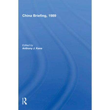 China Briefing, 1989 - eBook