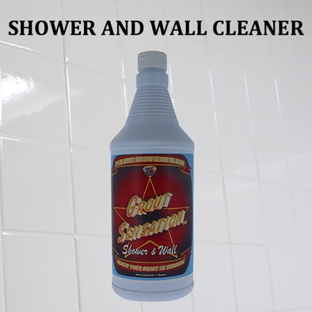 Grout Sensation Shower and Wall w/ Trigger Spray
