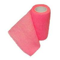 "SyrVet 4"" Syrflex Cohesive Flexible Bandage Hot Pink"