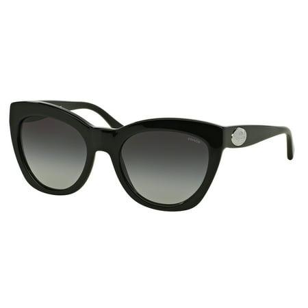 1cd9b3a010b4e Coach - COACH Sunglasses HC 8151 500211 Black 54MM - Walmart.com