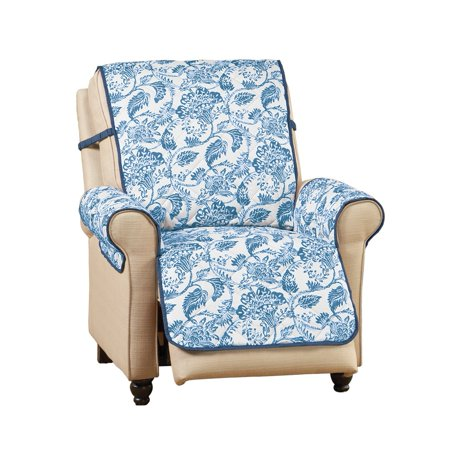 Leafy Scroll Reversible Florence Quilted Furniture