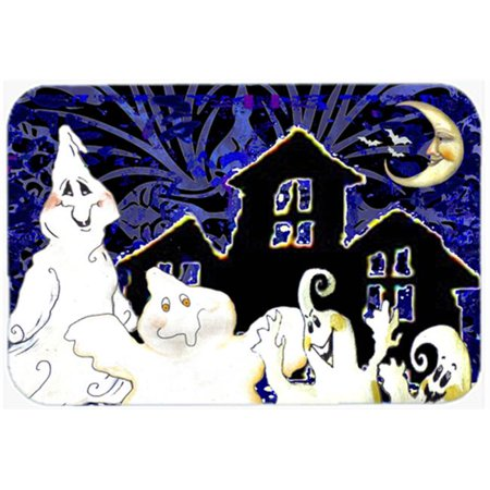 The Gangs All Here Ghosts Halloween Glass Cutting Board, Large - image 1 de 1