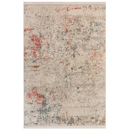Trans-Ocean Imports BGN58620412 4 ft. 10 in. x 7 ft. 6 in. Liora Manne Bergen Cloud Indoor Wilton Woven Rectangle Rug - Ivory - image 1 of 1