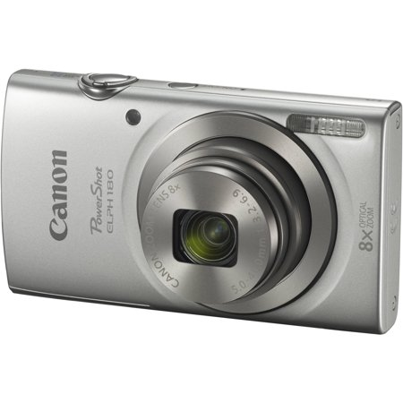 Canon PowerShot ELPH 180 Digital Camera (Silver) Canon Powershot Sd1100 Digital Camera