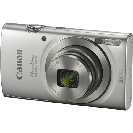 Canon Powershot Elph 180 Digital Camera  Silver