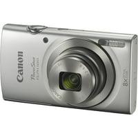 Canon PowerShot ELPH 180 Digital Camera (Silver)