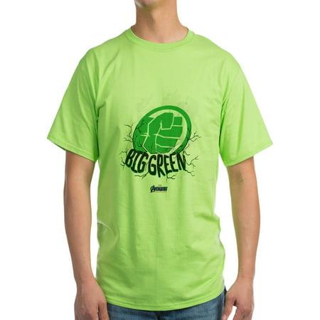 CafePress - Big Green Hulk Fist Green T Shirt - 100% Cotton, Soft T-Shirt