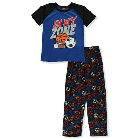 Guy Group Halloween Costume Ideas (Tuff Guys Boys' In My Zone 2-Piece Pajamas (Big)