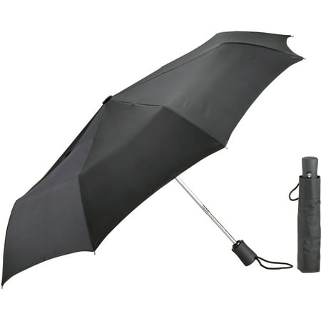 Lewis N. Clark Umbrella, Black - Black Lace Umbrella