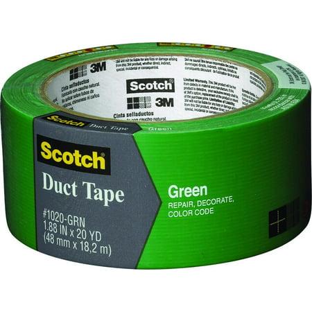 Tape Duct Green 1 88inx20yd Walmart Com