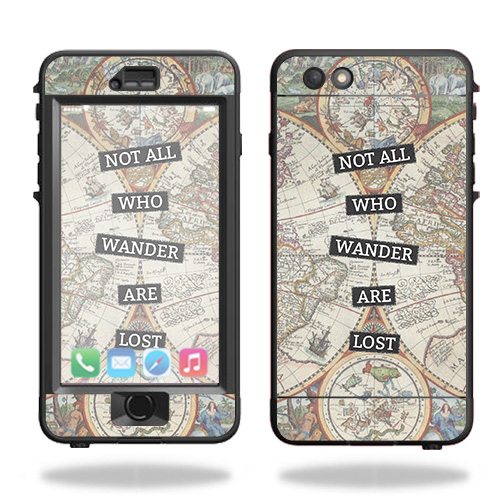 Skin For Lifeproof Nuud iPhone 6s Plus Case – Who Wander | MightySkins Protective, Durable, and Unique Vinyl Decal wrap cover | Easy To Apply, Remove, and Change Styles | Made in the USA