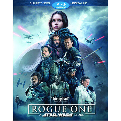 Rogue One: A Star Wars Story (Blu-ray + DVD + Digital HD) by Walt Disney Home Video