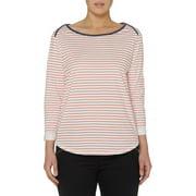 Women's Striped Boatneck T-Shirt