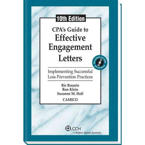 CPA's Guide to Effective Engagement Letters: Implementing Successful Loss Prevention Practices [With CDROM]