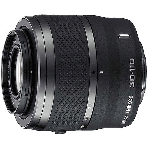 Nikon 1 Nikkor VR 30-110mm f/3.8-5.6 Compact Telephoto Lens (Available in multiple colors)