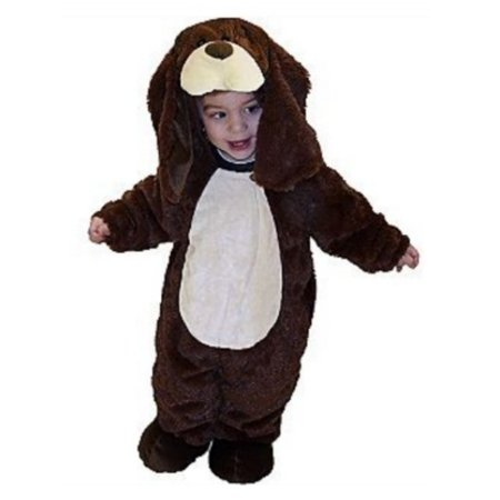Totally Ghoul Plush Infant Puppy Costume Brown Baby Dog