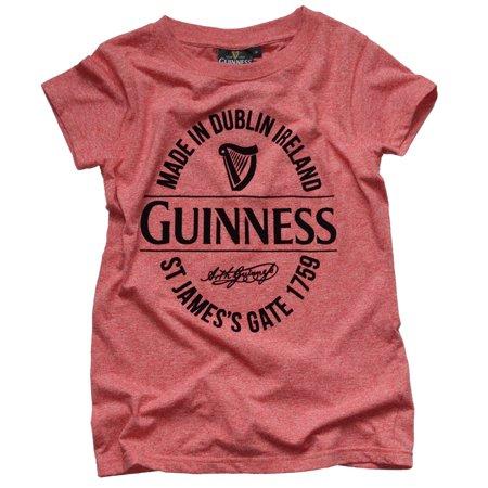 Guinness Ladies Tee (Guinness Red Stamp Grindle Ladies)