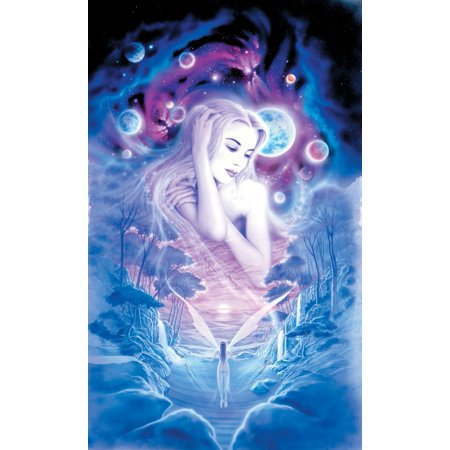 Cosmic Fairies Stretched Canvas - Robin Koni (11 x 5)