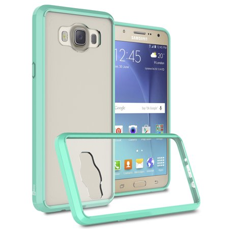 CoverON Samsung Galaxy J7 (2016) Case, ClearGuard Series Clear Hard Phone Cover - Walmart.com