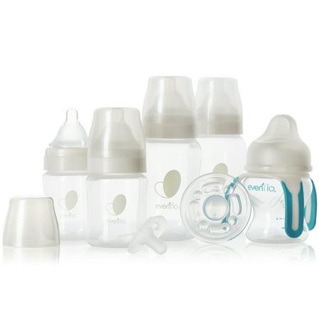 Evenflo Feeding Balance + Wide Neck BPA-Free Infant Feeding & Soothing Gift Set - 7ct