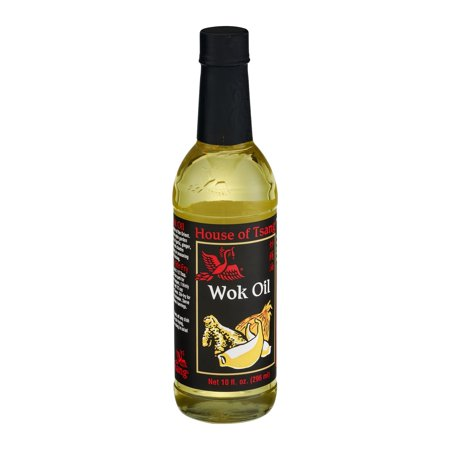 House Of Tsang Wok Oil, 10 FL OZ (Pack of 6) (House Of Tsang Mongolian Fire Oil 5 Oz)