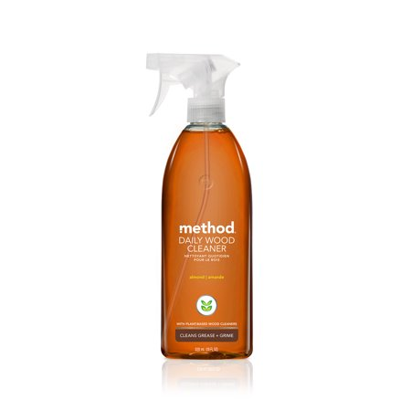method Daily Wood Cleaner, Almond, 28 Ounce
