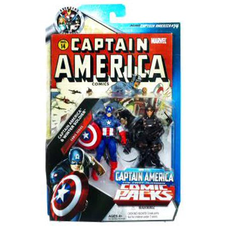 Marvel Universe Captain America & Winter Soldier Action Figure 2-Pack Marvel Captain Universe