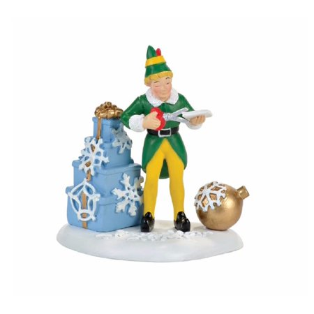 Elf The Movie Buddy's Christmas Decorations Christmas Village Accessories](Elf Door Decoration)
