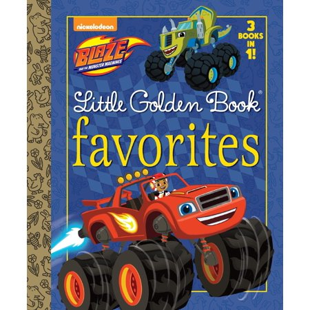 Blaze Little Golden Book Favorites (Blaze and the Monster Machines) (Ten Little Monsters Halloween Song)