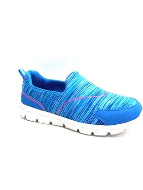 Girls' Memory Foam Slip-on Athletic Shoe