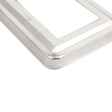 8pcs Handrail Hand Rail 75mmx45mm Post Base Plate Cover 304 Stainless Steel