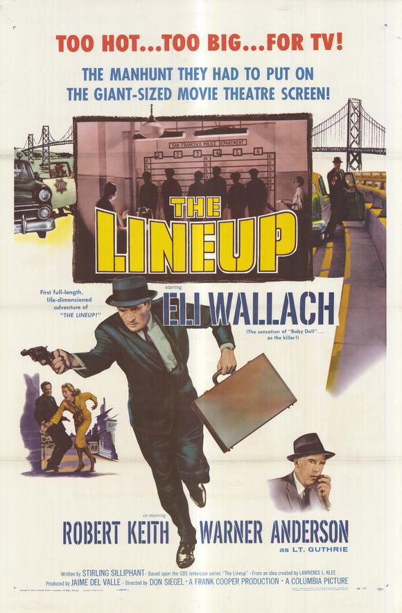 "The Lineup - movie POSTER (Style A) (11"" x 17"") (1958) - Walmart.com -  Walmart.com"