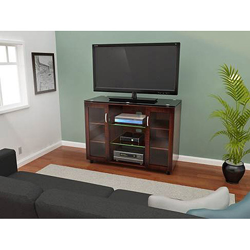 """Albion Highboy TV Stand for TVs up to 60"""", Espresso"""