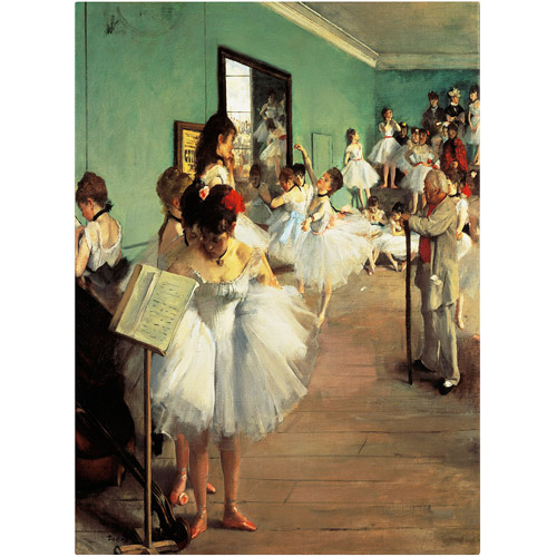 "Trademark Fine Art ""Dance Examination"" 1873-74 Canvas Art by Edgar Degas"