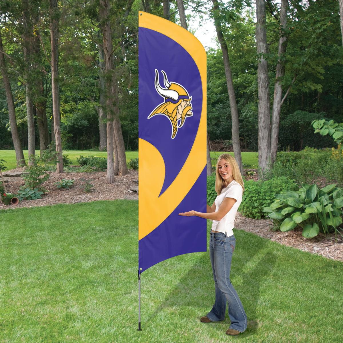 Minnesota Vikings Feather Tailgating Flag