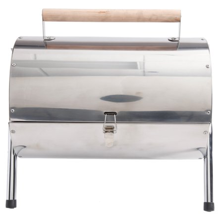 Wilkerson Double Barrel BBQ Grill