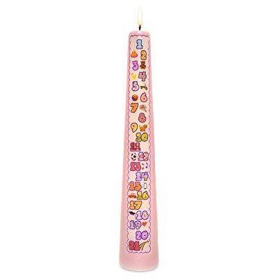 celebration candles 1-21 year contemporary countdown birt...