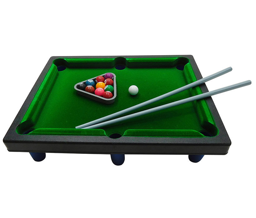 Delightful Kids Sports Tabletop Pool Table Billiard Game