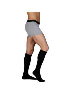 0545674421 Product Image Juzo 5760 Silver Sole Knee High Socks - 12-16 mmHg