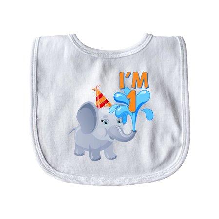 1st Birthday Elephant Baby -